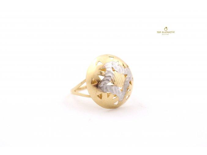 Zlatý prsten 3.82g