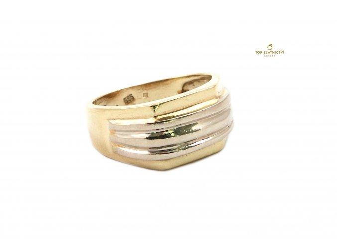 Zlatý prsten 7.83g