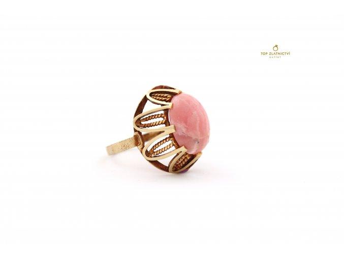 Zlatý prsten 5.66g