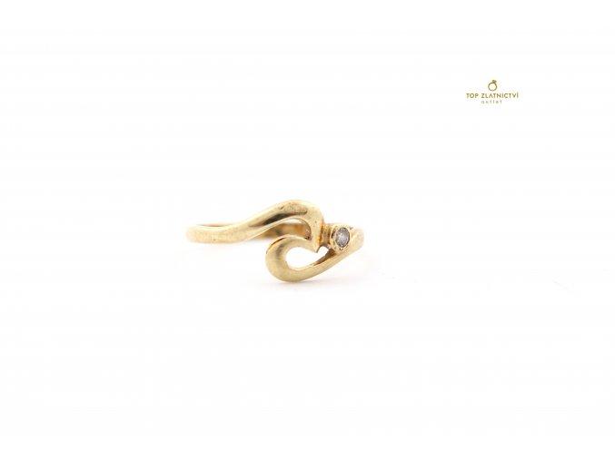 Zlatý prsten 1.87g