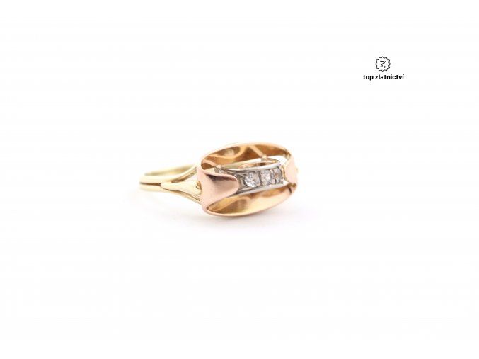 Zlatý prsten 3.59g