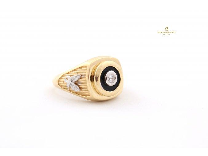Zlatý prsten 9.14g