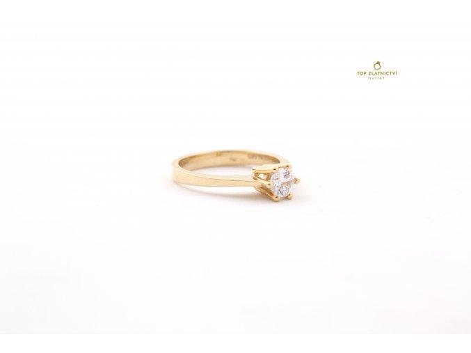 Zlatý prsten 3.76g