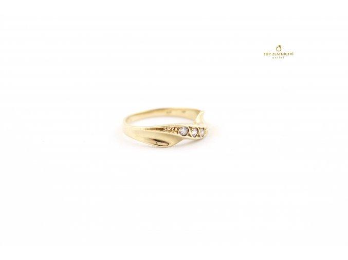 Zlatý prsten 2.33g