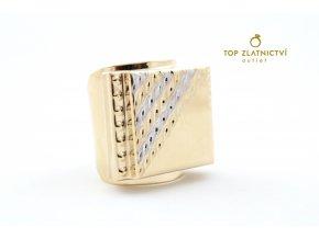 Zlatý prsten 12.98g
