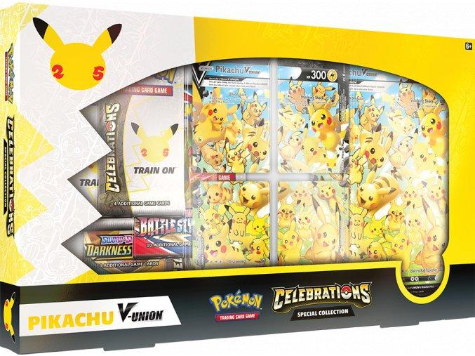 Pokemon TCG Celebrations Special Collection—Pikachu V UNION