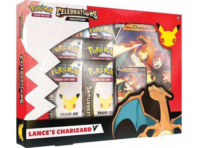 Pokemon TCG Celebrations Collections—Lance's Charizard V