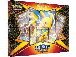 Pokemon TCG Shining Fates Collection—Pikachu V