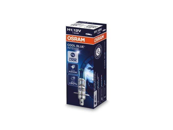 12V H1 55W P14,5s CoolBlue Intense