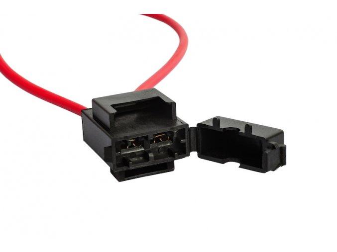 držák na ploché pojistky vertikální 3-20A (BP0901)