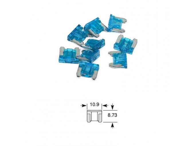 pojistka plochá mikro 15A