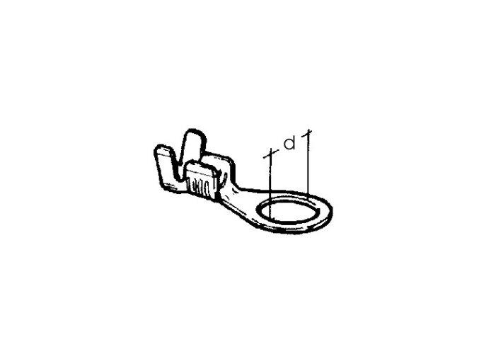 kabelové oko prstencové 3 x 0,5 - 1,5