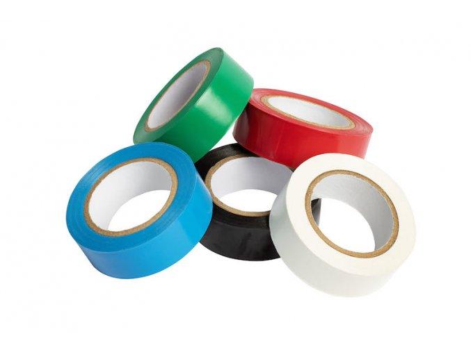izolační páska PVC, modrá 0,13 x 19 x 10