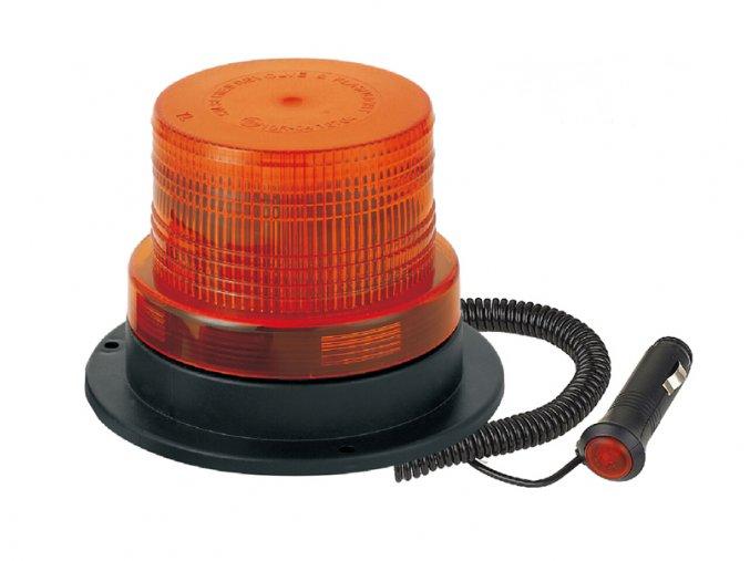 maják magnetický 12/24V LED, oranžový