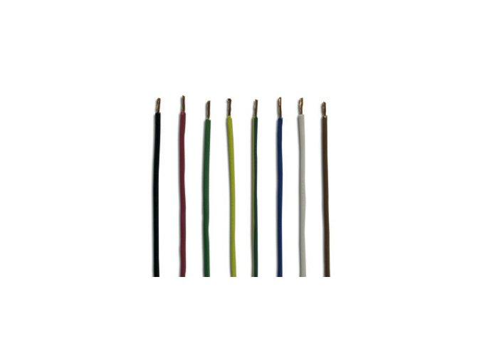 kabel 1 x 1,5 mm2, žluto-zelený