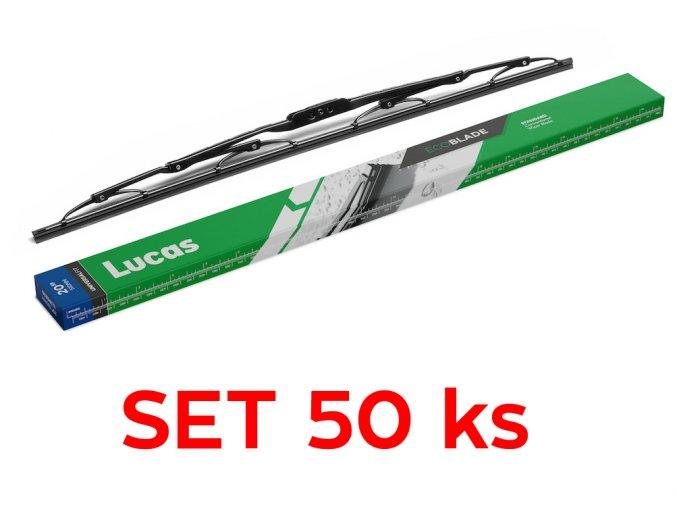 """standardní stěrač Lucas Economy  21""""/530mm - set 50 ks"""