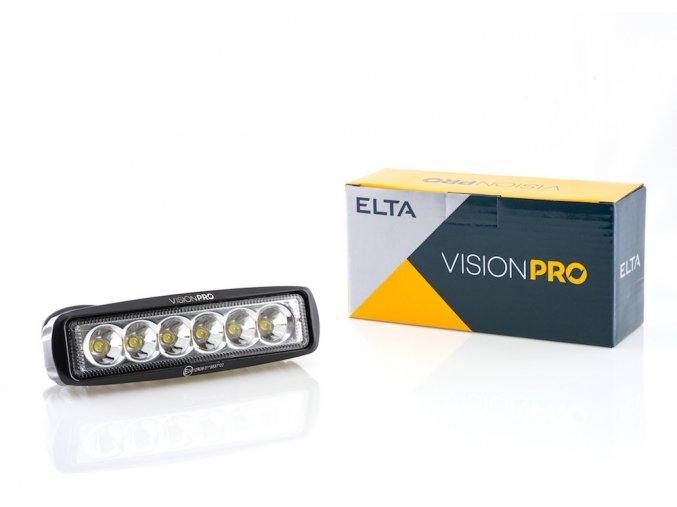 pracovní světlo 6x LED, pevné uchycení, Elta
