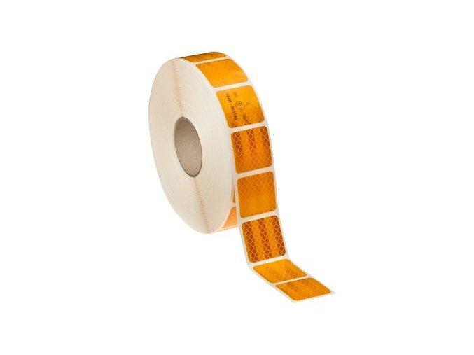 3M reflexní páska segmentovaná, na plachtu, Diamond Grade oranžová - 50 m