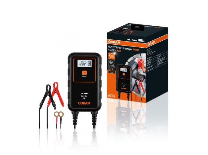 BatteryCharge 906 - 6-ampérová inteligentní nabíječka