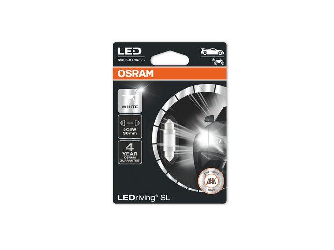 12V 5W C5W sufit LED 36mm SV8,5, blistr
