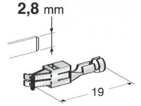 objímka speciální 2,8 x 0,5 - 1