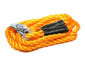 tažné lano s háky, 2500-5000kg, délka 4m