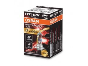 12V H7 55W PX26d NightBreaker200 +200%
