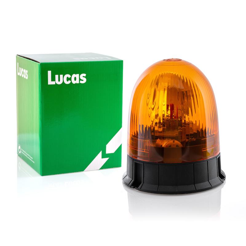 maják pevný 12/24V halogenový, oranžový