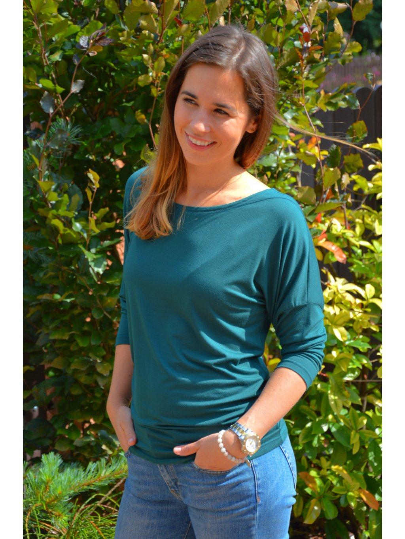 Tričko MIŠEL lahvově zelená