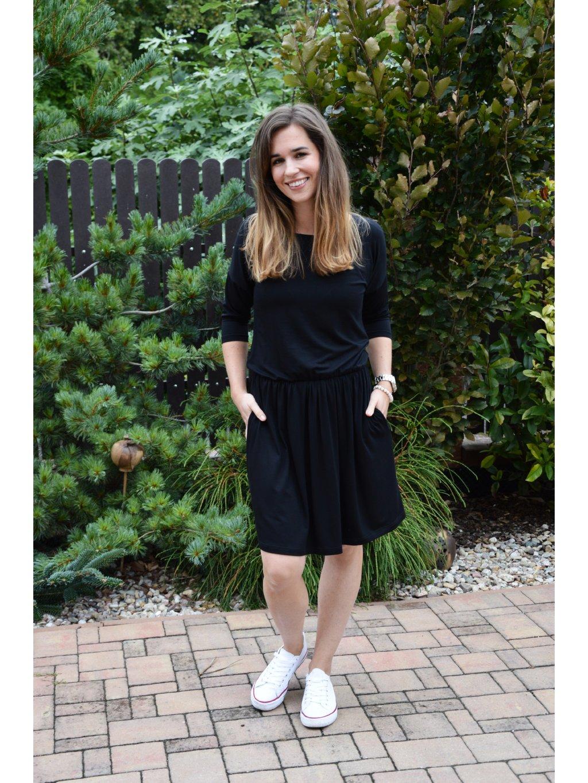 Šaty KARIN černé