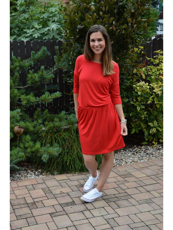 Šaty KARIN červené
