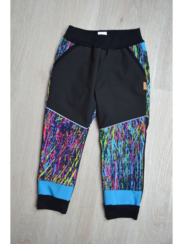 Soft kalhoty  škrábance 104