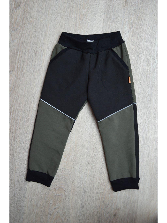 Soft kalhoty  khaki 104