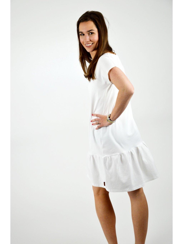 Šaty ELEONORA bílé