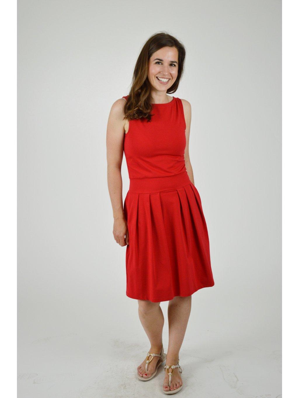 Šaty ELI červené