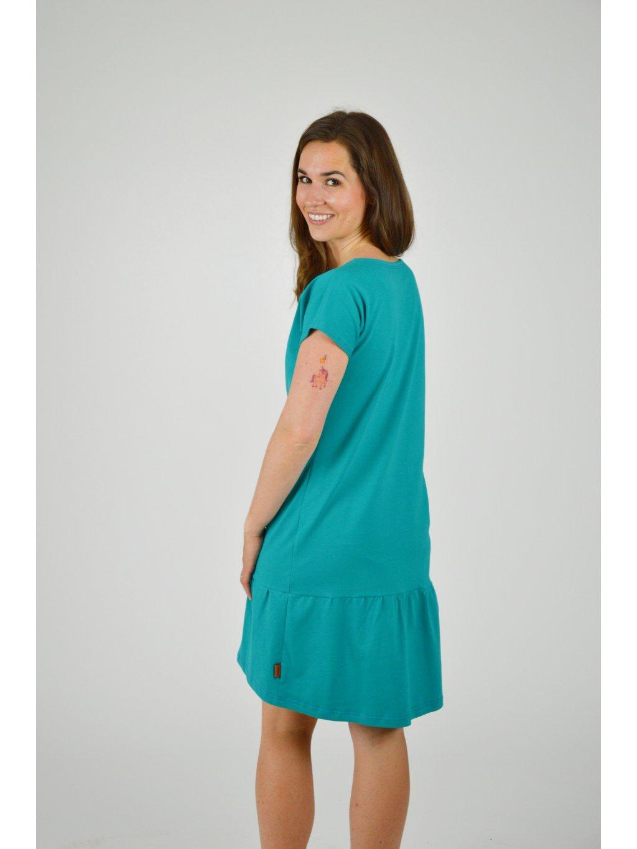 Šaty ELEONORA Smaragdová