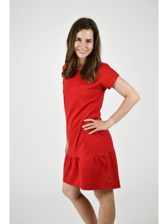 Šaty ELEONORA Červená