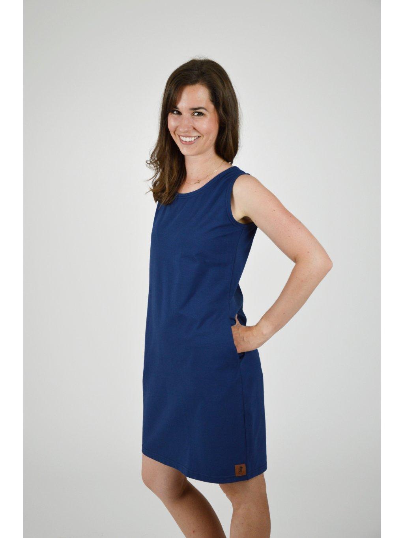 Šaty EMA Tmavě modrá