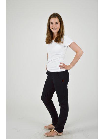 Kalhoty BELLA černá