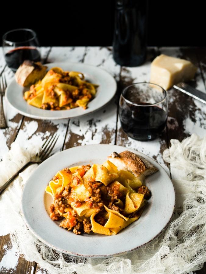 Sugo della Signora Marchini - nedělní recept na těstoviny