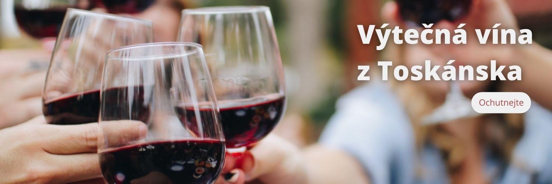 Výtečná vína z Toskánska