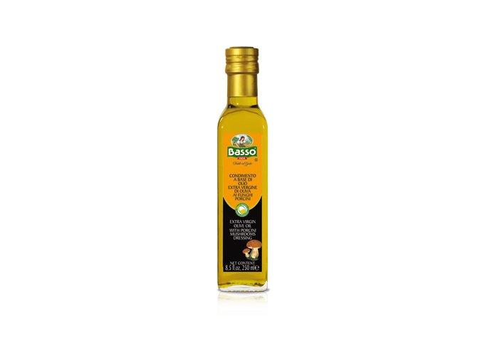 Extra panenský olivový olej s hubovou arómou Basso 250ml