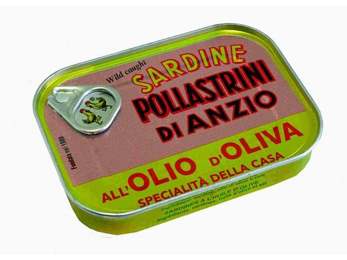 Sardinky v olivovom oleji SAPA 100g