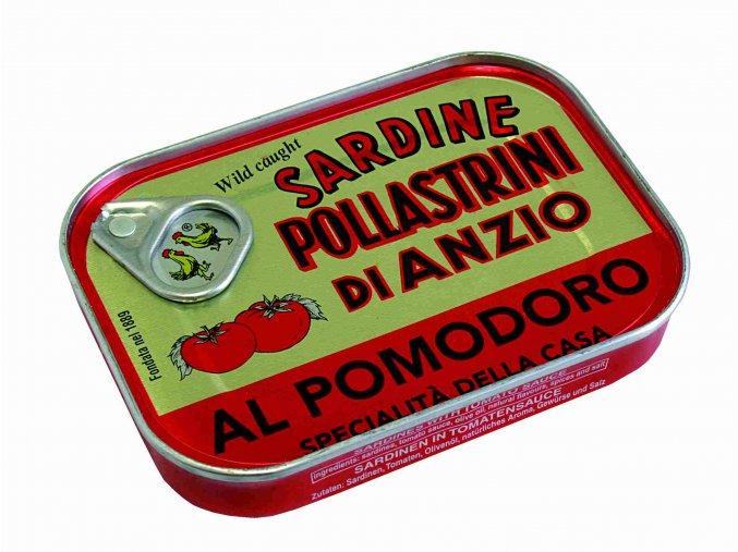 Sardinky v tomate SAPA 100g