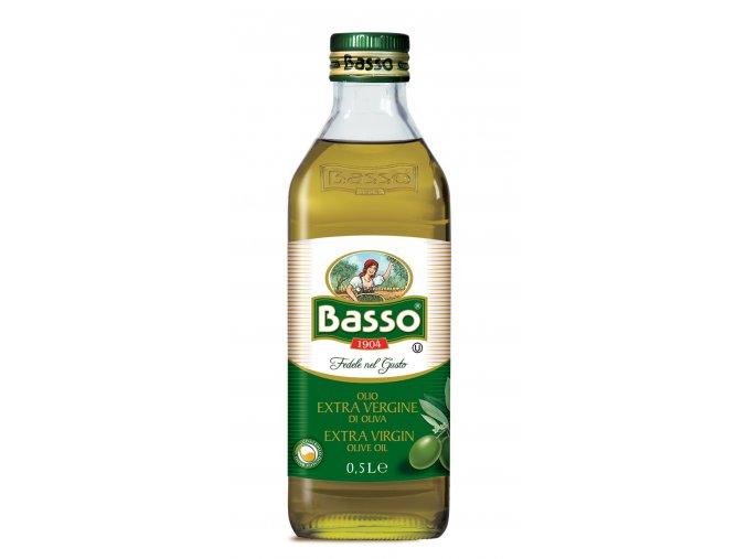 Panenský olivový olej Basso 500ml