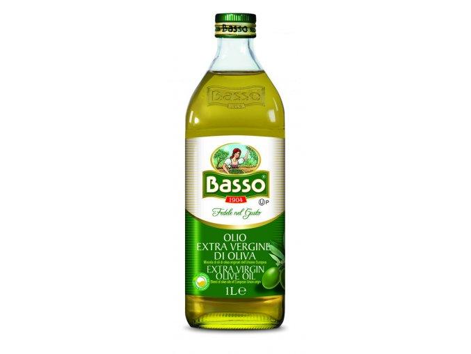 Panenský olivový olej Basso 1l