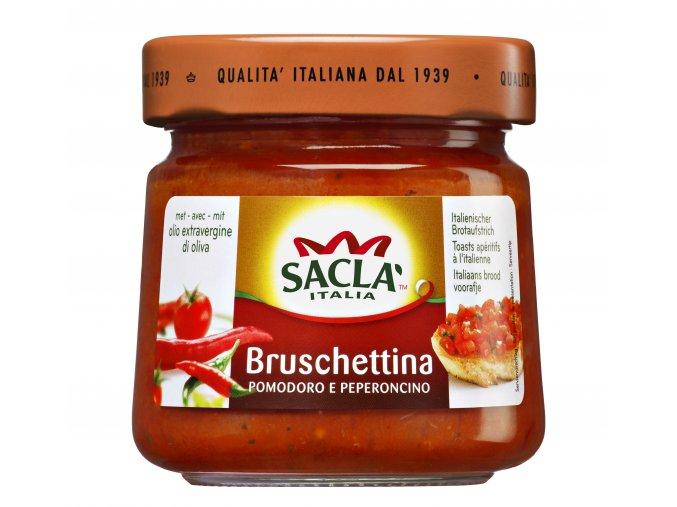 Bruschettina s feferónkou Sacla 190g