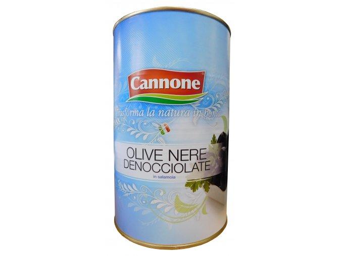 Olivy čierne bez kôstok Cannone 4kg