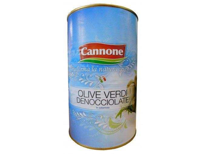 Olivy zelené bez kôstok Cannone 4kg