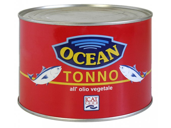 Tuniak v rastlinnom oleji Ocean 1,73kg